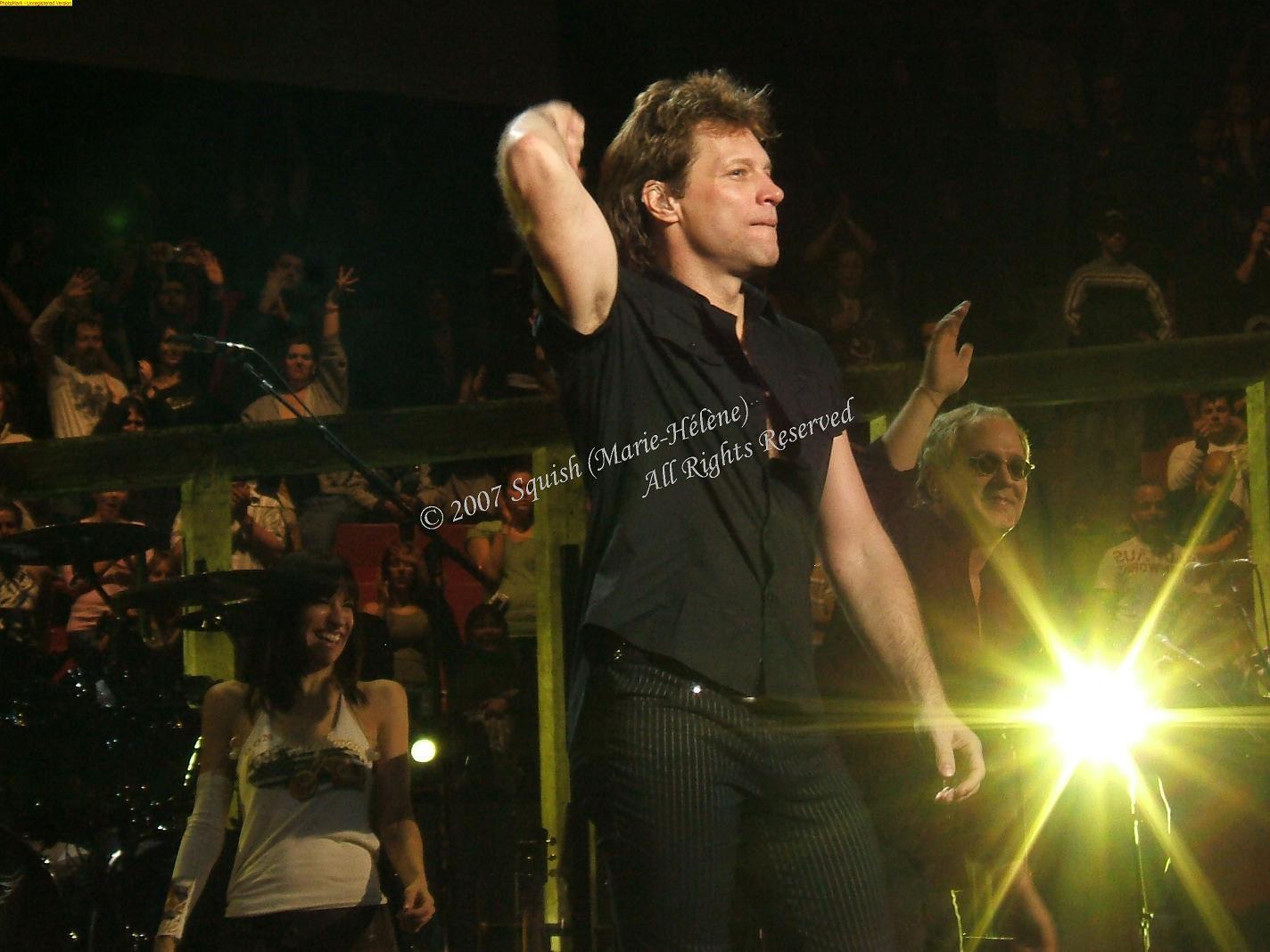 Bon Jovi - Centre Bell, Québec, Canada (15 novembre 2007)
